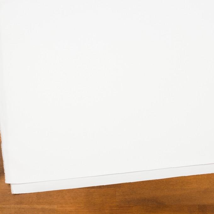 コットン×無地(ホワイト)×ギャバジン_全2色_イタリア製 イメージ2
