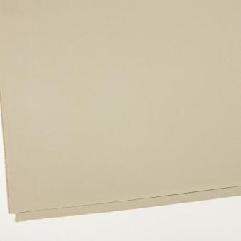 コットン×無地(ライトカーキ)×ギャバジン_全2色_イタリア製 サムネイル2