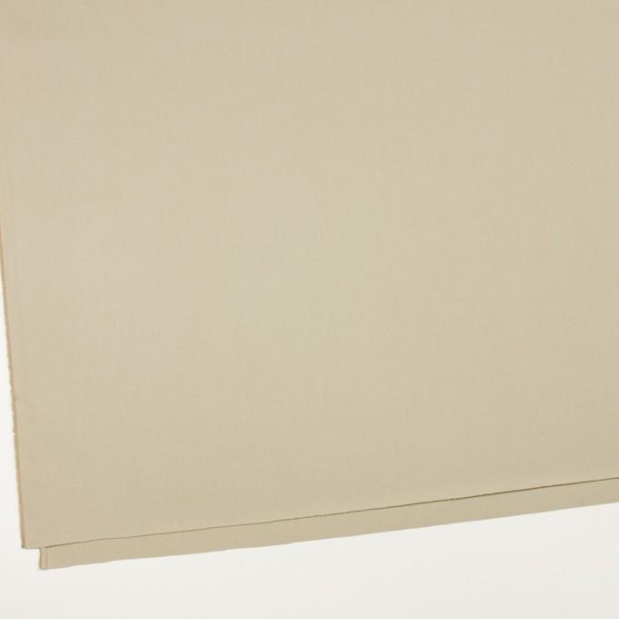 コットン×無地(ライトカーキ)×ギャバジン_全2色_イタリア製 イメージ2