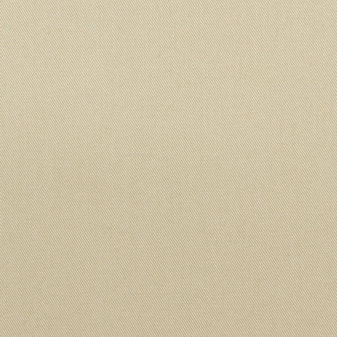 コットン×無地(ライトカーキ)×ギャバジン_全2色_イタリア製 イメージ1