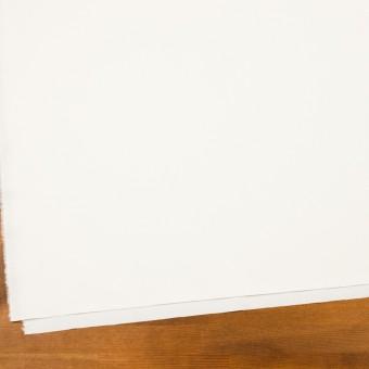 コットン&ウール混×無地(ミルキーホワイト)×サージストレッチ_全3色_イタリア製 サムネイル2