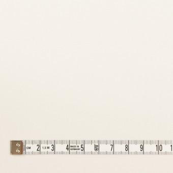 コットン&ウール混×無地(ミルキーホワイト)×サージストレッチ_全3色_イタリア製 サムネイル4