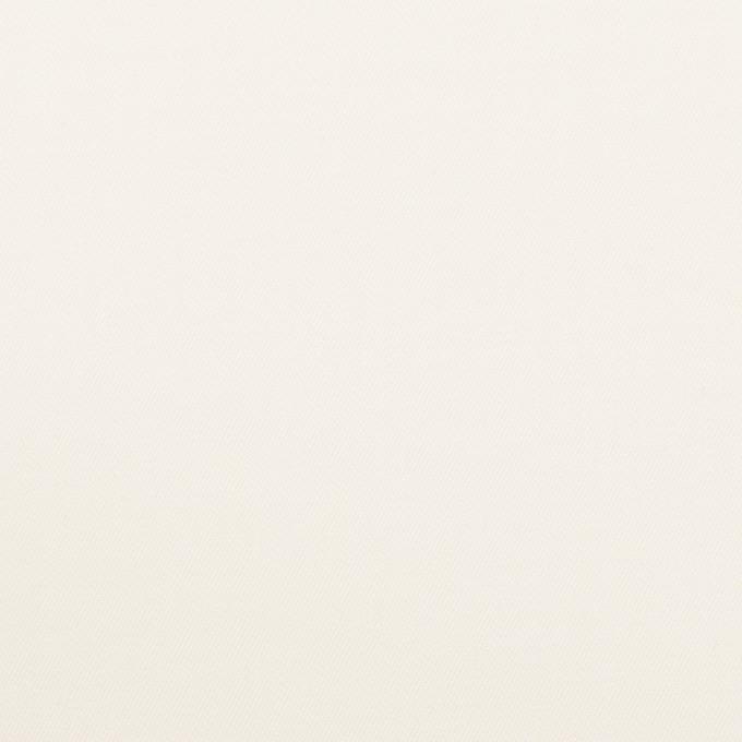 コットン&ウール混×無地(ミルキーホワイト)×サージストレッチ_全3色_イタリア製 イメージ1