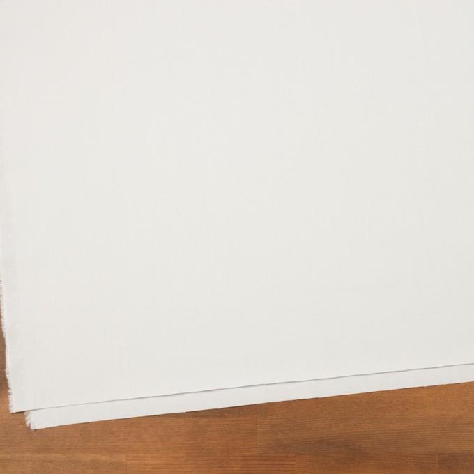 コットン&ウール混×無地(ライトグレー)×サージストレッチ_全3色_イタリア製 イメージ2
