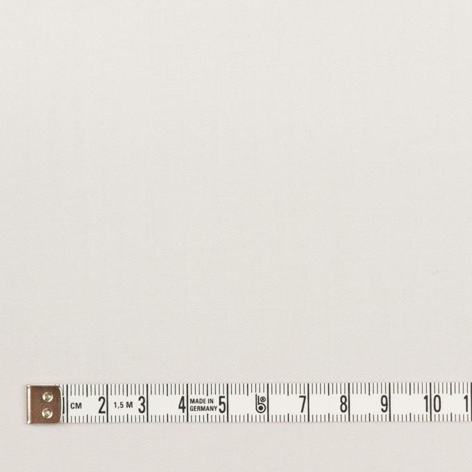 コットン&ウール混×無地(ライトグレー)×サージストレッチ_全3色_イタリア製 イメージ4