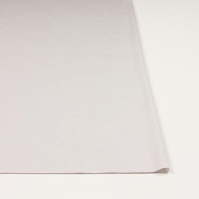 コットン&モダール×無地(パールグレー)×スムースニット_全2色 イメージ3