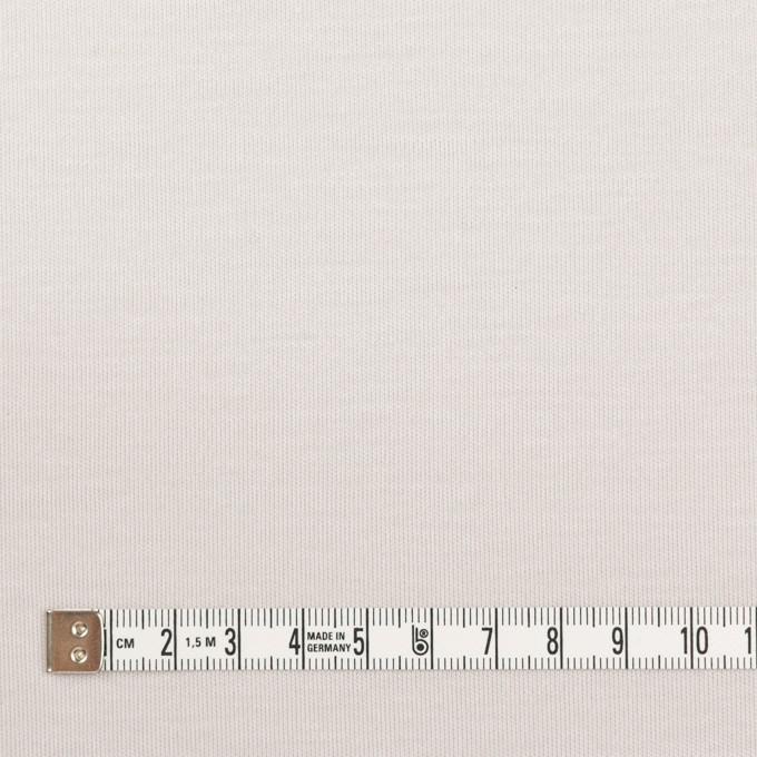 コットン&モダール×無地(パールグレー)×スムースニット_全2色 イメージ4
