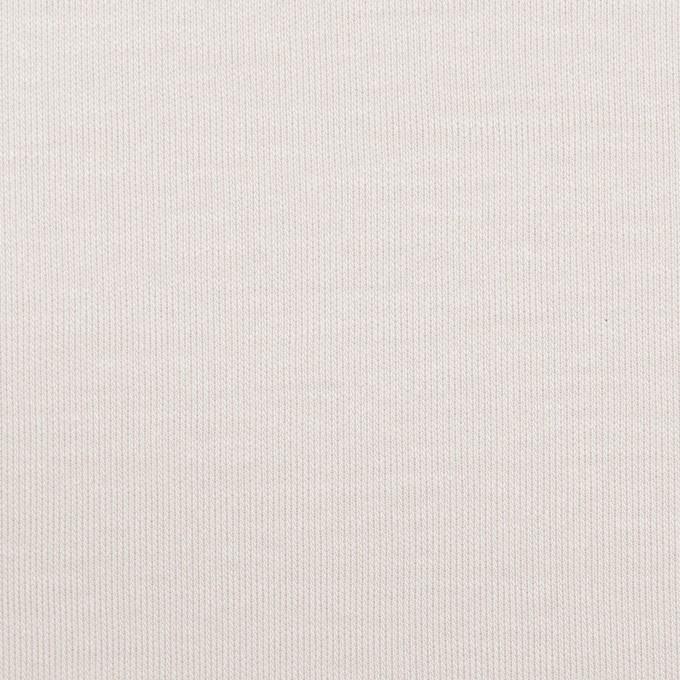 コットン&モダール×無地(パールグレー)×スムースニット_全2色 イメージ1