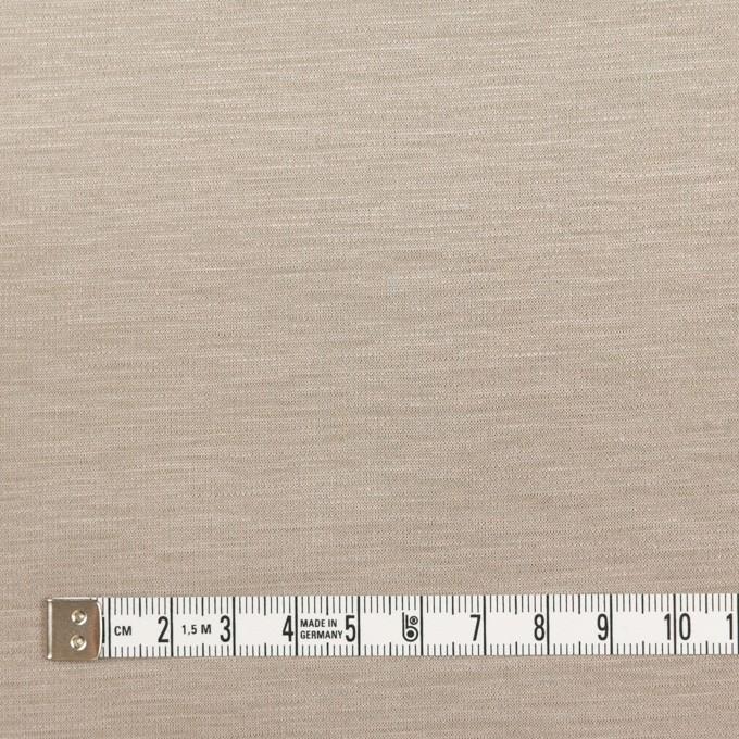 コットン&モダール×無地(アッシュブロンド)×スムースニット_全2色 イメージ4