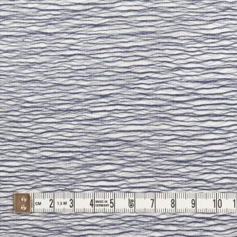 コットン×ウェーブ(アッシュネイビー)×ボイルジャガード サムネイル4