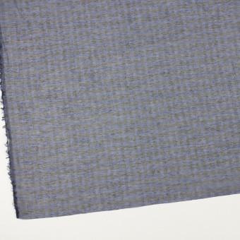 コットン&シルク×チェック(ネイビー&ブラック)×オーガンジー サムネイル2