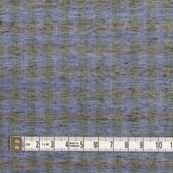 コットン&シルク×チェック(ネイビー&ブラック)×オーガンジー サムネイル4