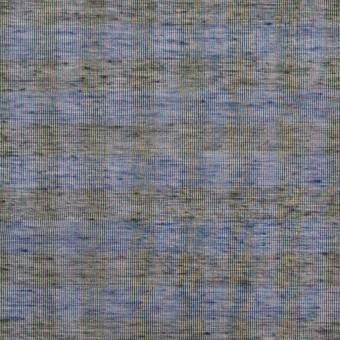 コットン&シルク×チェック(ネイビー&ブラック)×オーガンジー サムネイル1