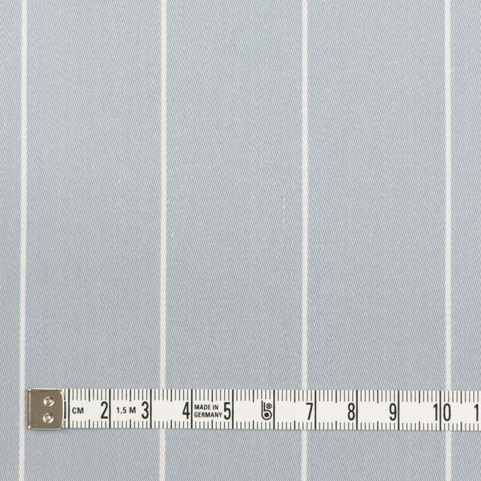 コットン×ストライプ(ブルーグレー)×サージ イメージ4
