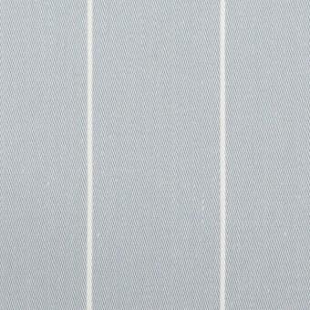 コットン×ストライプ(ブルーグレー)×サージ サムネイル1