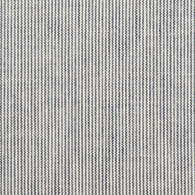 コットン×ストライプ(キナリ&ダークネイビー)×シーチング イメージ1