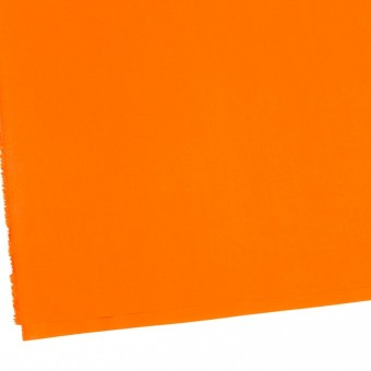 コットン×無地(オレンジ)×ローンワッシャー_全4色 サムネイル2