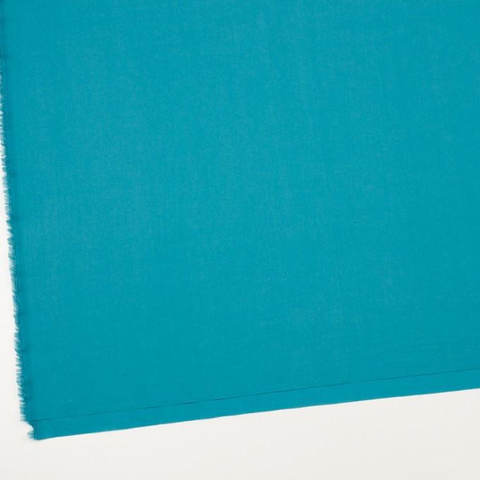 コットン×無地(ターコイズブルー)×ローンワッシャー_全4色 イメージ2