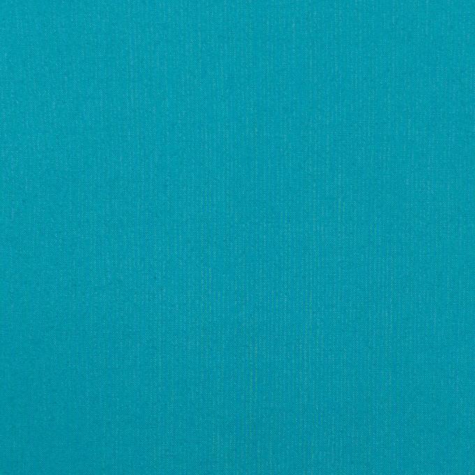 コットン×無地(ターコイズブルー)×ローンワッシャー_全4色 イメージ1