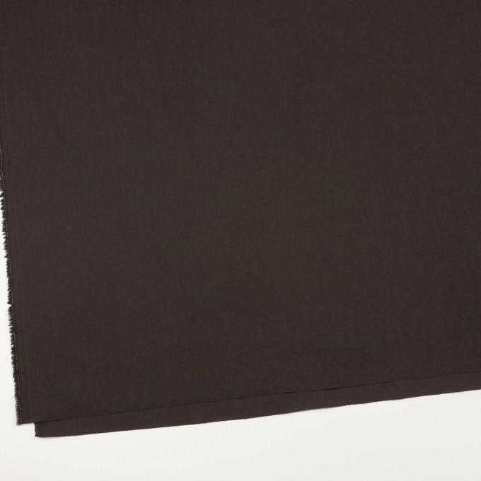 コットン×無地(ビターチョコレート)×ローンワッシャー_全4色 イメージ2