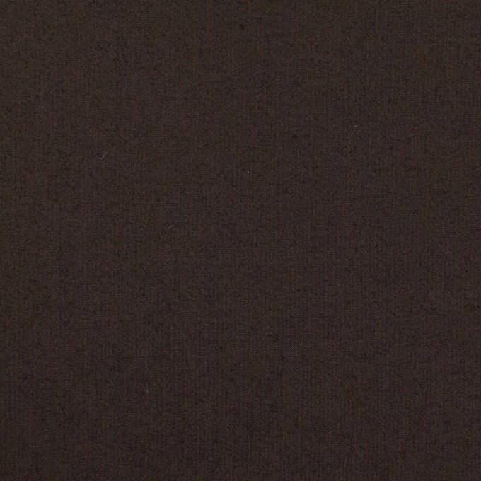 コットン×無地(ビターチョコレート)×ローンワッシャー_全4色 イメージ1