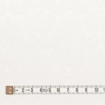 コットン&ポリエステル×幾何学模様(オフホワイト)×サテンジャガード_全4色 サムネイル4