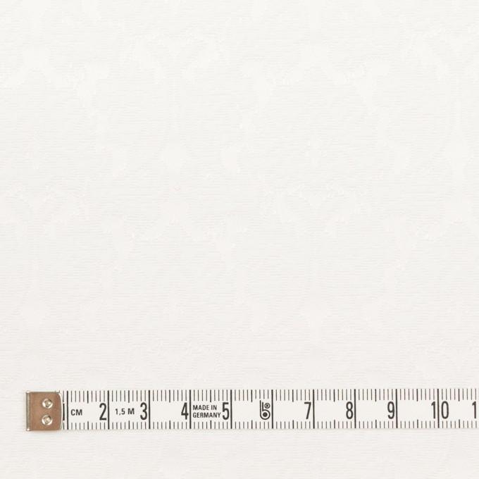 コットン&ポリエステル×幾何学模様(オフホワイト)×サテンジャガード_全4色 イメージ4