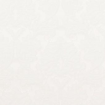 コットン&ポリエステル×幾何学模様(オフホワイト)×サテンジャガード_全4色