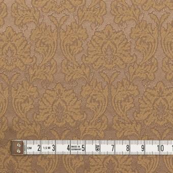 コットン&ポリエステル×幾何学模様(キャラメル)×サテンジャガード_全4色 サムネイル4