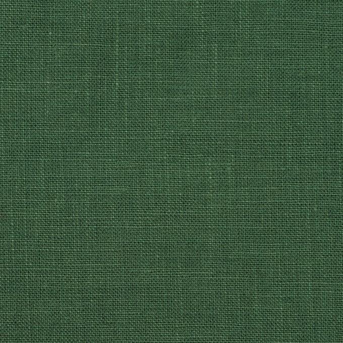 リネン×無地(フォリッジグリーン)×薄キャンバス_全25色 イメージ1