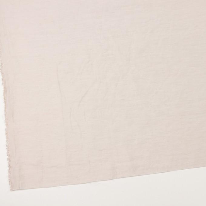 ナイロン&リネン混×無地(パール)×オーガンジーワッシャー_全2色 イメージ2