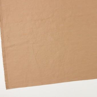 ナイロン&リネン混×無地(セピア)×オーガンジーワッシャー_全2色 サムネイル2