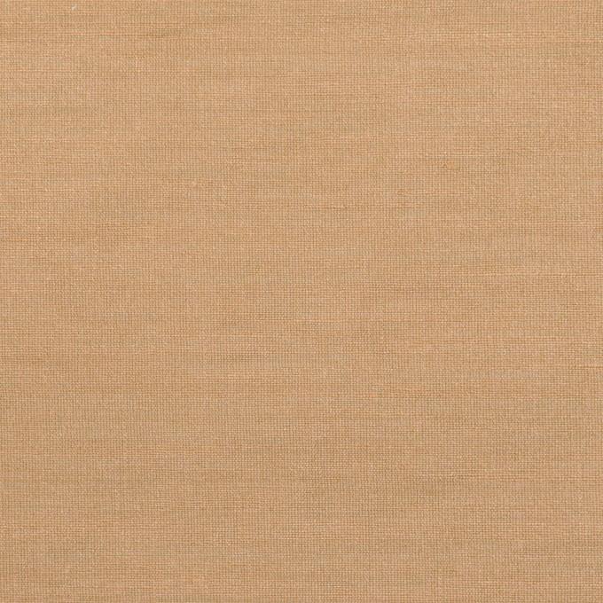 ナイロン&リネン混×無地(セピア)×オーガンジーワッシャー_全2色 イメージ1