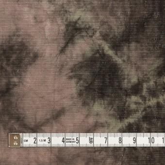 コットン×ミックス(ピンクベージュ&カーキブラウン)×パワーネット・ワッシャー サムネイル4
