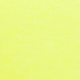 コットン&ポリエステル×無地(ネオンイエロー)×天竺ニット サムネイル1