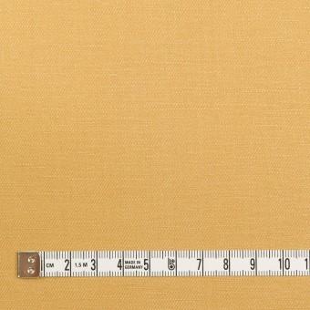 リネン&レーヨン×無地(ディジョンマスタード)×サージ_全5色 サムネイル4