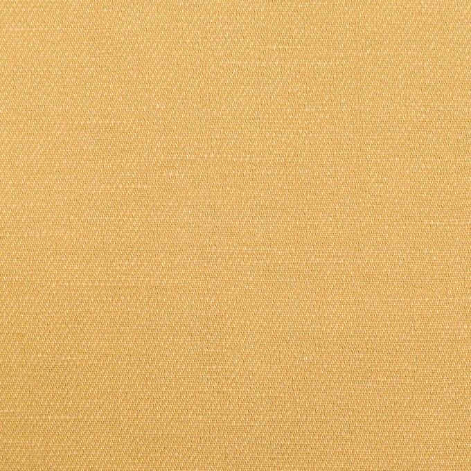 リネン&レーヨン×無地(ディジョンマスタード)×サージ_全5色 イメージ1