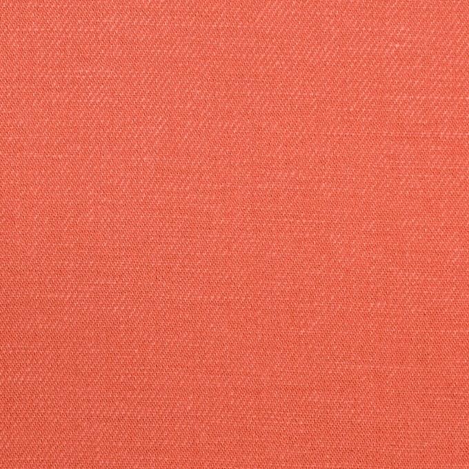 リネン&レーヨン×無地(ルビーグレープフルーツ)×サージ_全5色 イメージ1