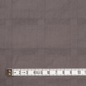 コットン×チェック(アッシュブラウン)×ローンジャガード サムネイル4