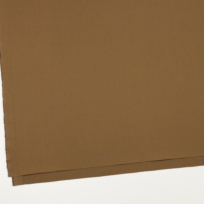 コットン&ポリウレタン×無地(ブラウン)×ギャバジン・ストレッチ_全2色_イタリア製 イメージ2