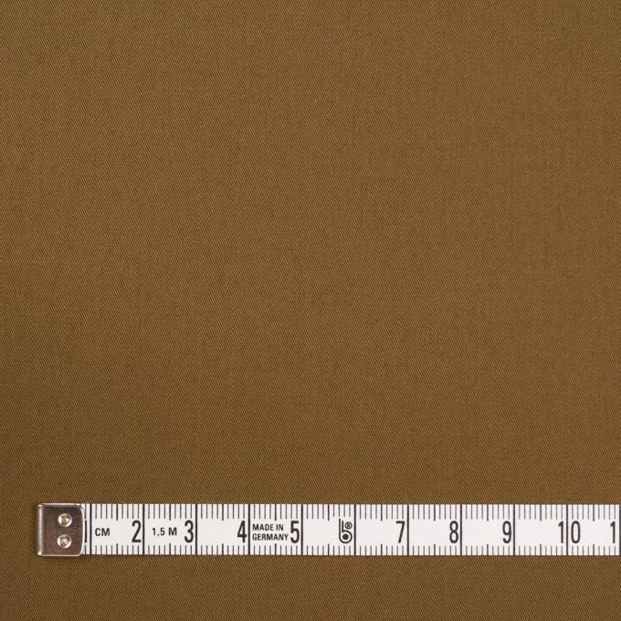 コットン&ポリウレタン×無地(ブラウン)×ギャバジン・ストレッチ_全2色_イタリア製 イメージ4