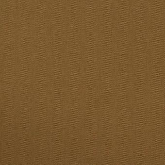 コットン&ポリウレタン×無地(ブラウン)×ギャバジン・ストレッチ_全2色_イタリア製