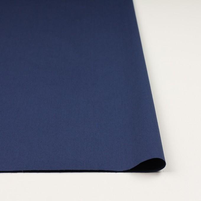 コットン&ポリウレタン×無地(マリンブルー)×ギャバジン・ストレッチ_全2色_イタリア製 イメージ3