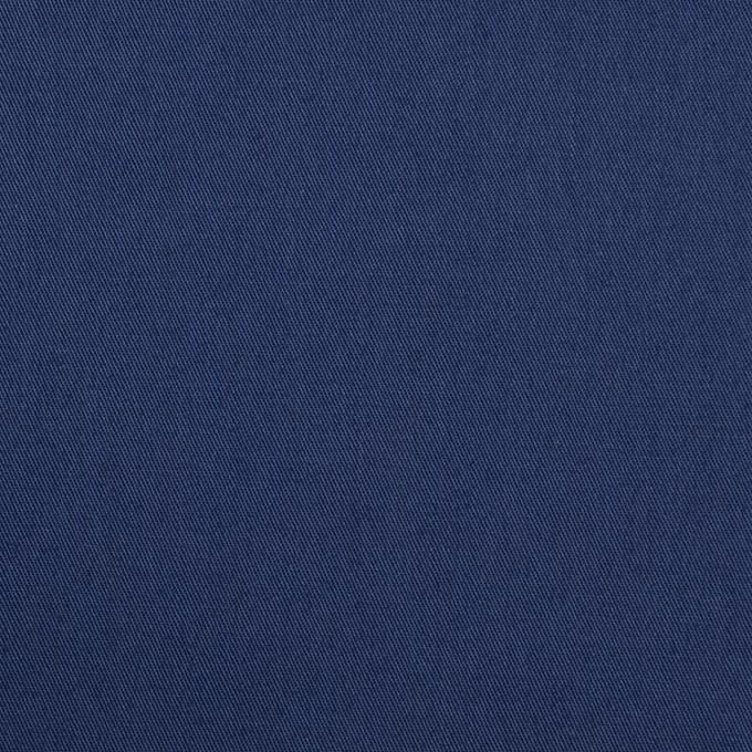 コットン&ポリウレタン×無地(マリンブルー)×ギャバジン・ストレッチ_全2色_イタリア製 イメージ1