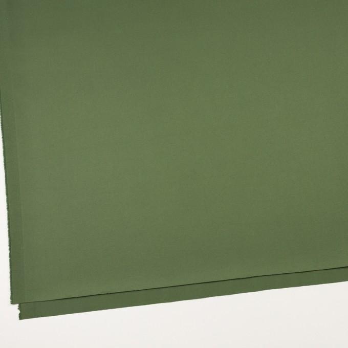 コットン&ポリウレタン×無地(フォレストグリーン)×チノクロス・ストレッチ_全3色 イメージ2