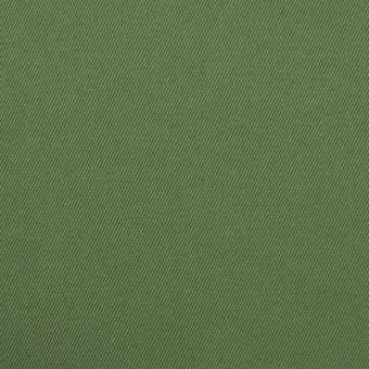 コットン&ポリウレタン×無地(フォレストグリーン)×チノクロス・ストレッチ_全3色
