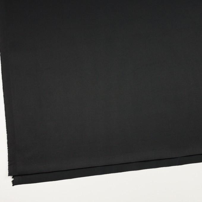 コットン&ポリウレタン×無地(ブラック)×チノクロス・ストレッチ_全3色 イメージ2