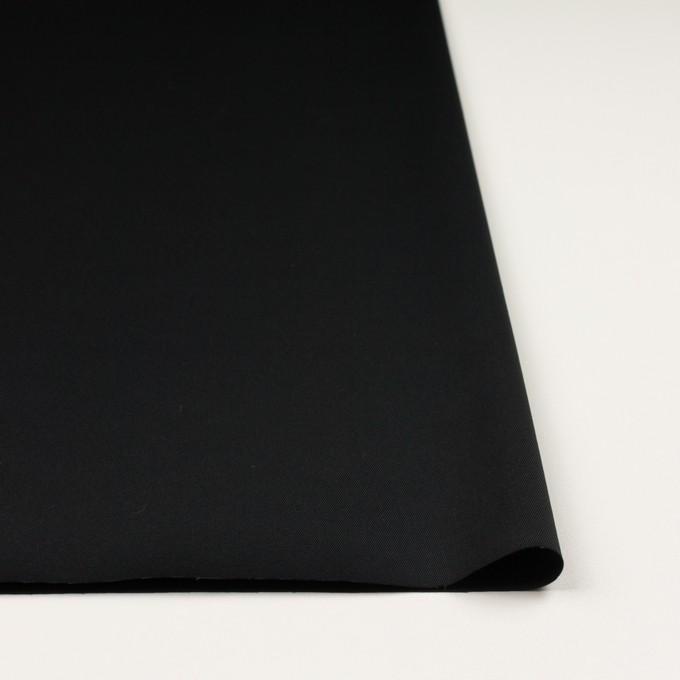 コットン&ポリウレタン×無地(ブラック)×チノクロス・ストレッチ_全3色 イメージ3