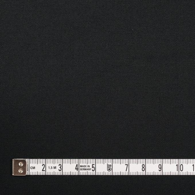 コットン&ポリウレタン×無地(ブラック)×チノクロス・ストレッチ_全3色 イメージ4
