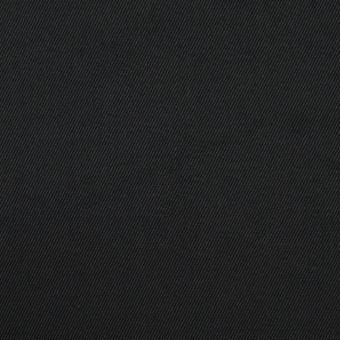 コットン&ポリウレタン×無地(ブラック)×チノクロス・ストレッチ_全3色